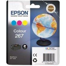 Тонер Epson чернила cartridge color T 267