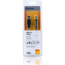 BELKIN USB A/B kaabel 1,8 m Hi-Speed 2.0