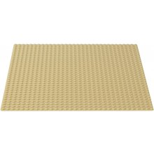 LEGO Classic Sandstone construction plate