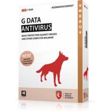 G-DATA Antivirus, новый electronic licence...