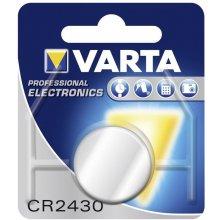 VARTA Batterie Knopfzelle CR2430 3V 280mAh...