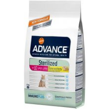 ADVANCE cat Sterilized +10 years Chicken и...