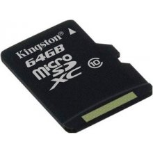 Флешка KINGSTON Atmiņas karte MicroSDXC 64Gb...