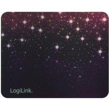 LogiLink Golden laser mousepad Outer space...