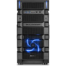 Korpus Sharkoon BD28 ATX Midi Tower Blue...