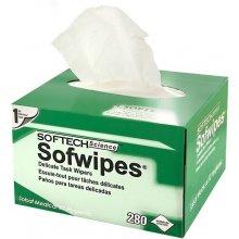 Qoltec Dustless wipes for fiber optics