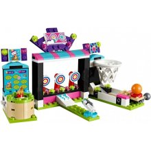 LEGO Friends machines in amusement park