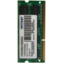 Mälu PATRIOT 4GB 1600MHz DDR3 Non-ECC CL11...