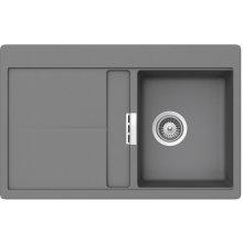 Teka Gloria 40 B-TG Metalic алюминиевый sink