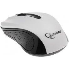 Мышь Gembird оптическая 1200 DPI, USB, белый