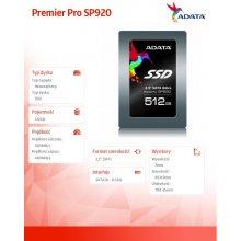 Kõvaketas ADATA SSD Premier Pro SP920 512GB...