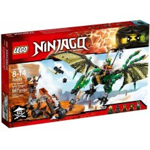 LEGO NINJAGO 70593 The roheline NRG Dragon