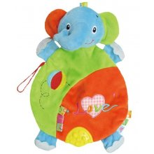 Funikids Cuddly toy reassuring Elephant
