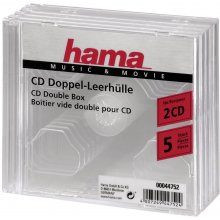 Диски Hama CD-двойной-Box pack of 5...
