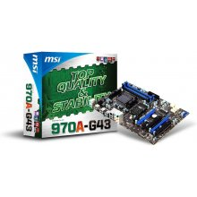 Emaplaat MSI 970A-G43, DDR3-SDRAM, DIMM...