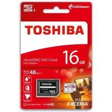 Флешка TOSHIBA microSDHC 16GB CL10 UHS-I...