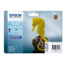 Tooner Epson Set T0487 C/M/Y/K/LC/LM...
