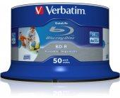 Диски Verbatim 1x50 BD-R Blu-Ray 25GB 6x...