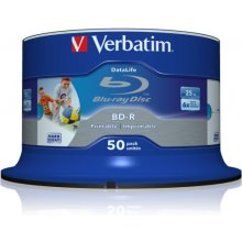 Verbatim BluRay BD-R SL DATALIFE [ Spindle...