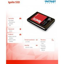Kõvaketas PATRIOT Ignite 480GB