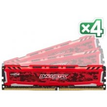 Mälu Ballistix Sport LT 64GB Kit DDR4 16GBx4...