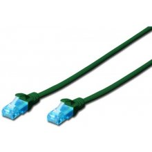 DIGITUS CAT 5e U-UTP patch cable 1m green