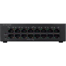CISCO 16-Port 10/100 PoE Desktop Switch