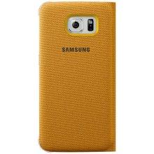 Samsung S-View ümbris Fabric für S6 kollane