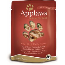 Applaws Eine kotike Tuna&Prawn 12x70g