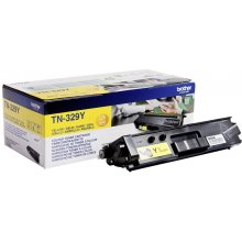 Tooner BROTHER Toner TN329Y kollane | 6000...