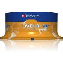 Диски Verbatim DVD-R 4,7GB 25 Spindel