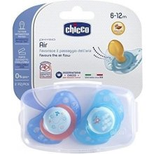 CHICCO Soother Physio Air blue 6m +
