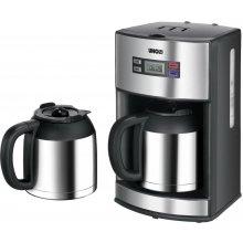 Кофеварка Unold цифровой edelstahl / чёрный