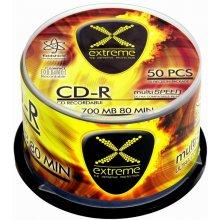 Diskid Extreme CD-R 700MB x52 - Cake Box 50