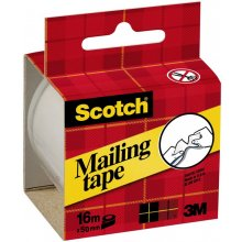 3M Pakketeip Scotch Tear By Hand 50mm x 16m...