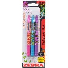 Zebra Pastapliiatsite komplekt Z-Grip Funky...