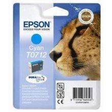 Тонер Epson чернила T0712 голубой DURABrite...