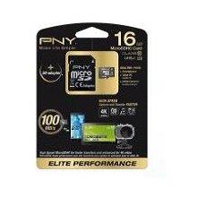 Флешка PNY microSD Elite Performance 16GB