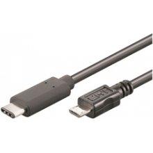 Mcab USB 3.1 C/M - MICROB 2.0 0.60M