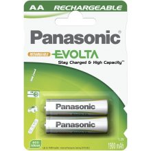 PANASONIC 1x2 rech.bat. NiMH Mig AA 2050 mAh...
