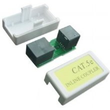 Gembird RJ45/RJ45 in-line coupler cat.5E