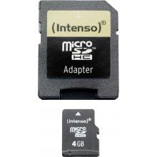 Флешка INTENSO microSDHC Karte 4GB
