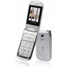 Mobiiltelefon Olympia Becco Plus hõbedane