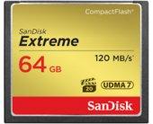 Mälukaart SanDisk CF CARD 64GB EXTREME