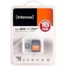 Флешка INTENSO microSDHC Karte 16GB