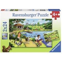 RAVENSBURGER RAVEN. 2X24 EL. Zabawa w Parku