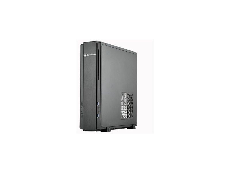 Silverstone ML03B Slim USB3.0 HTPC Case NO Power Supply