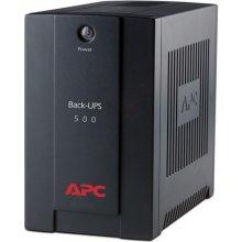 ИБП APC Back-UPS 500VA,AVR, IEC outlets, EU...
