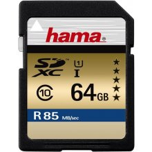Флешка Hama SDXC Card 64GB Class 10