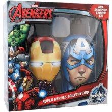 MARVEL Avengers triikraud Man & Captain...